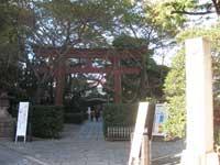 蒲田八幡神社鳥居