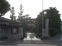 薭田神社鳥居