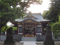 薭田神社拝殿