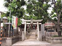 道々橋八幡神社鳥居