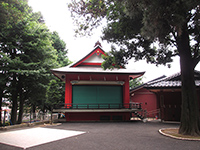 久が原西部八幡神社神楽殿