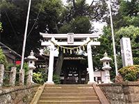 久が原東部八幡神社鳥居