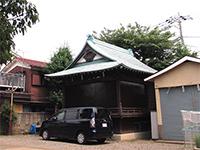 久が原東部八幡神社神楽殿