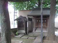 馬込八幡神社氷川社と三峯社