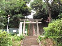 子安八幡神社鳥居