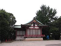 子安八幡神社神楽殿