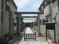 道塚神社鳥居