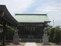 道塚神社拝殿