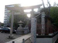 三輪厳島神社鳥居
