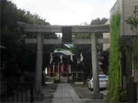 貴舩神社鳥居