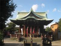 貴舩神社拝殿