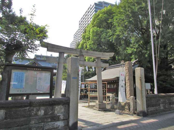 磐井神社 大田区大森北の神社、...