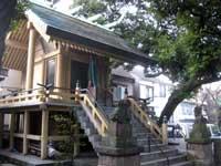 根岸神社拝殿