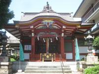 大森神社拝殿