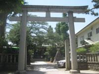 大森浅間神社鳥居