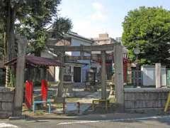東貫森稲荷神社鳥居
