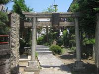 大森金山神社鳥居