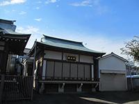 谷戸三輪神社神楽殿