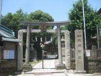 大森諏訪神社鳥居
