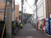 山王熊野神社参道