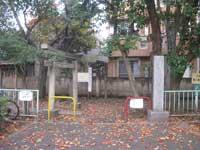 根ヶ原神社鳥居