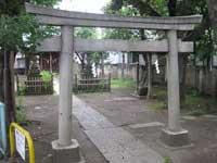 長田稲荷神社鳥居