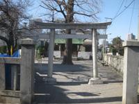 下丸子諏訪神社鳥居
