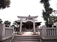 鵜ノ木八幡神社鳥居