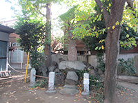 東谷北野神社筆塚