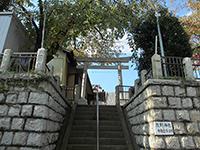 中井谷熊野神社鳥居