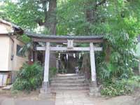 湯殿神社鳥居