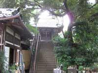 湯殿神社拝殿