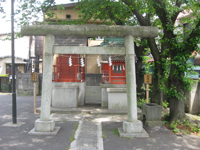 多摩川諏訪神社神楽殿