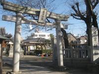安方神社鳥居