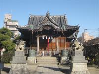 安方神社拝殿