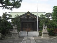 蓮沼熊野神社拝殿