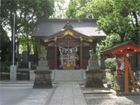 女塚神社拝殿