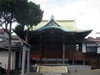 糀谷神社拝殿