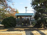 西二稲荷神社境内石碑