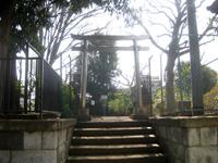 嶺稲荷神社鳥居