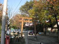 高畑神社鳥居