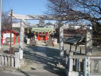 東八幡神社鳥居