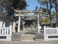 今泉神社鳥居