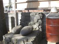 今泉神社の力石