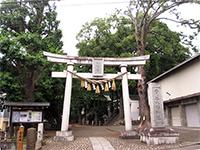 雪ヶ谷八幡神社鳥居