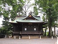 雪ヶ谷八幡神社神楽殿