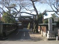 増明院山門