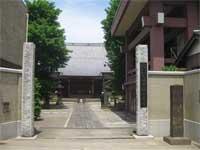古川薬師安養寺山門