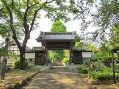 東栄寺山門