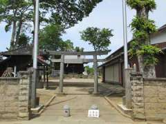 畔吉諏訪神社鳥居